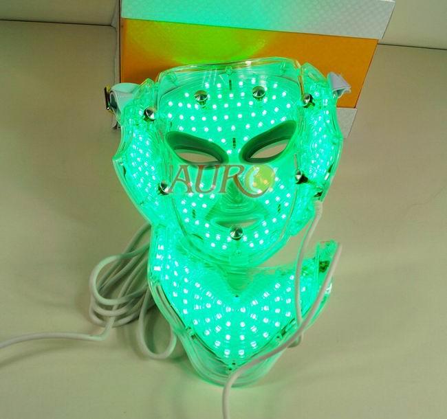 Au 008c Led Facial Mask Including Neck Led Mask Pdf Photon